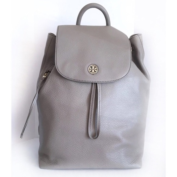 7195827261c Tory Burch Brody Large Backpack - French Gray